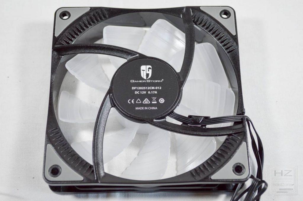 DeepCool GamerStorm Castle 240 RGB - ventilador 3