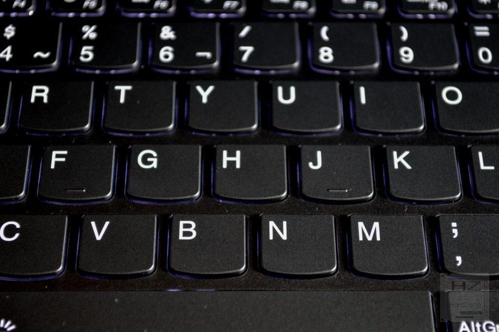 Lenovo Yoga 730 - Teclado iluminado 1