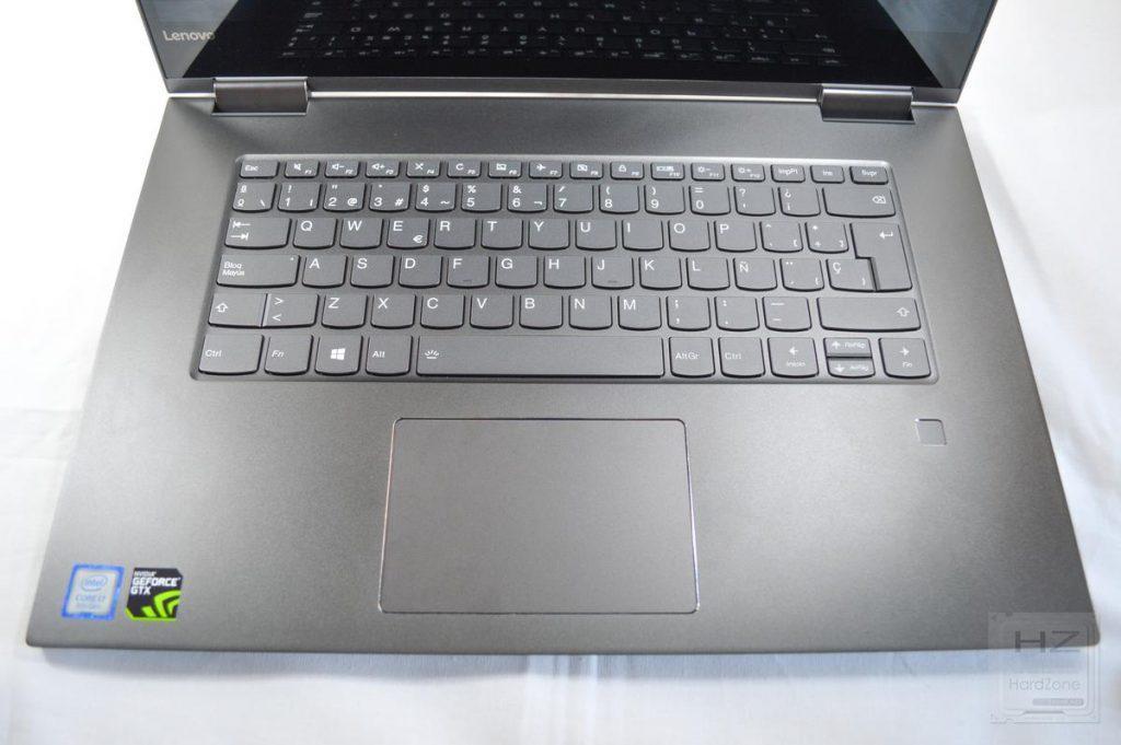 Lenovo Yoga 730 - Teclado y trackpad