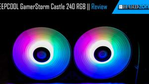 Review: DEEPCOOL GamerStorm Castle 240 RGB, una refrigeración líquida a todo color