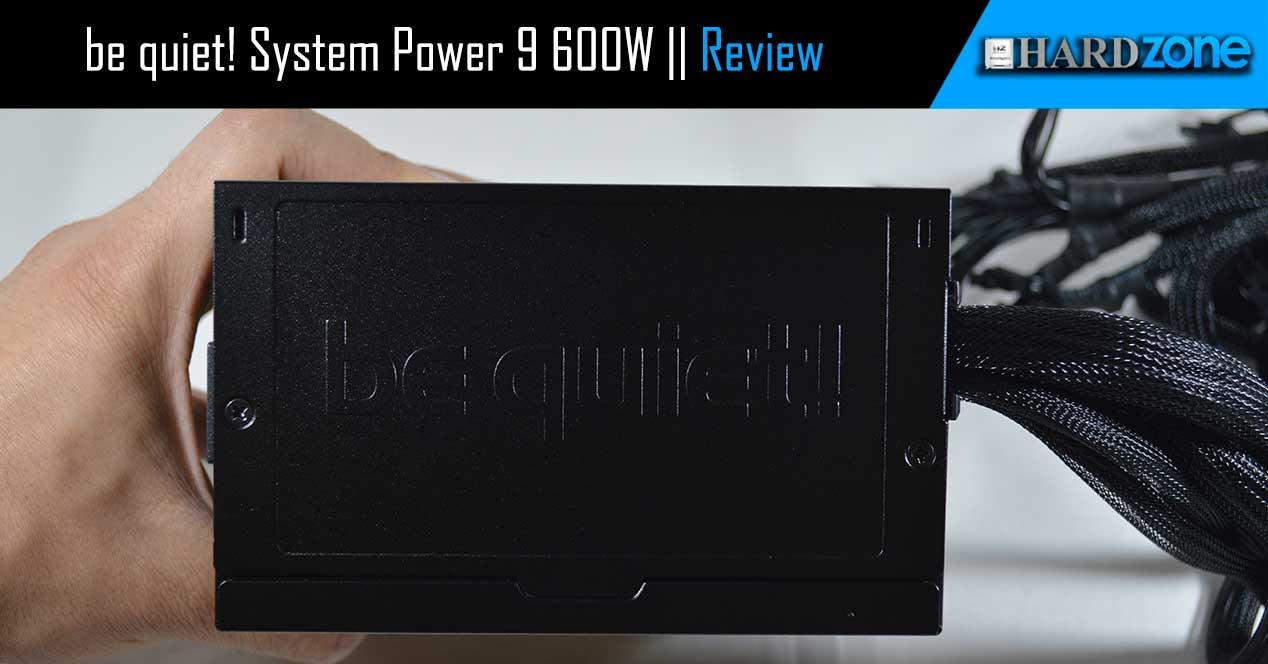 Review be quiet! System Power 9 de 600W