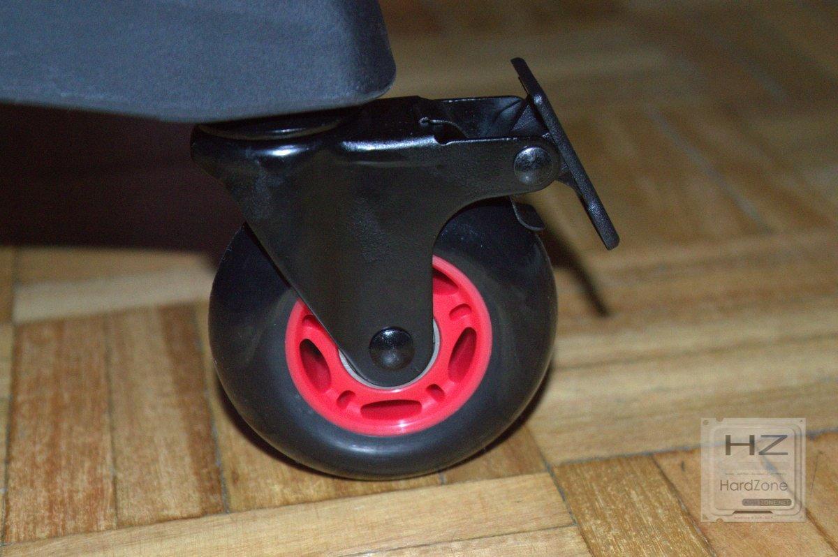silla gaming freno ruedas