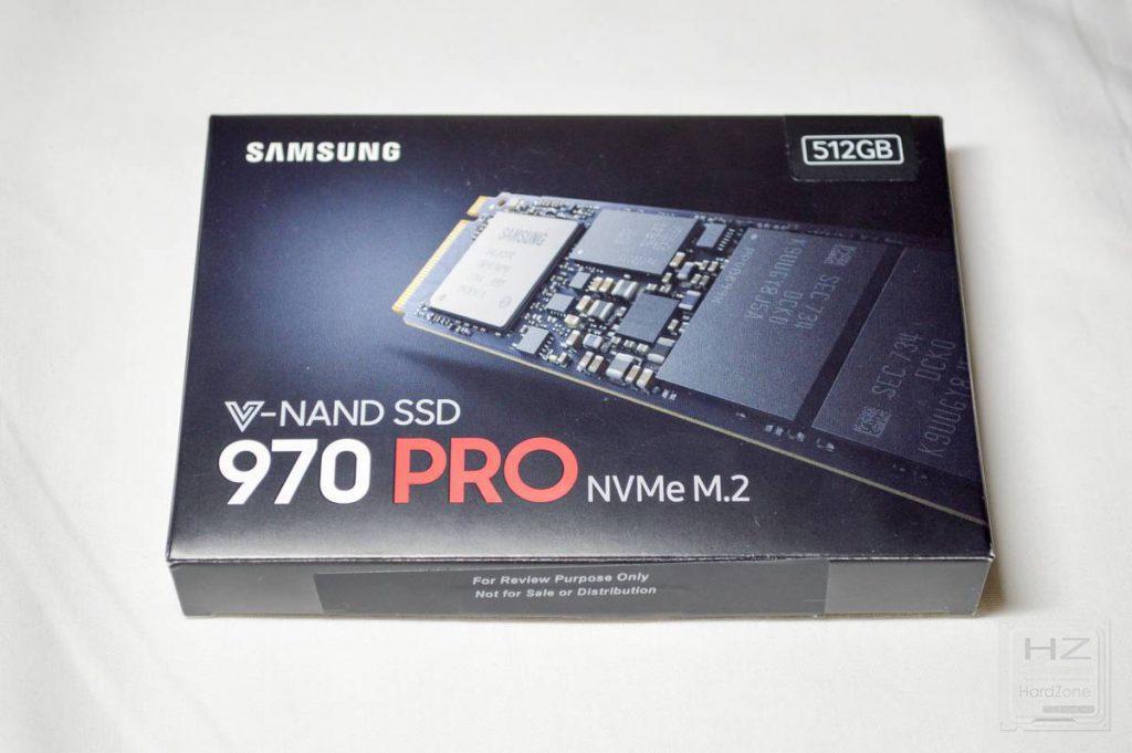 SSD Samsung 970 PRO - caja 1