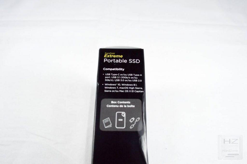 SanDisk Extreme Portable SSD - Caja 4