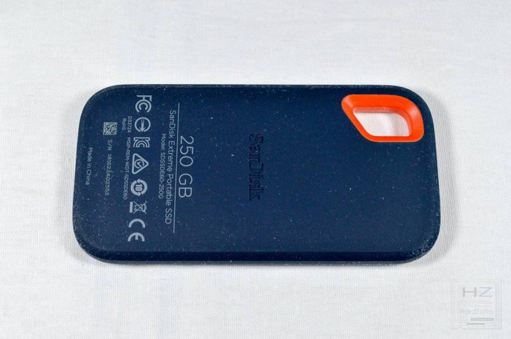SanDisk Extreme Portable SSD - SSD trasera 2