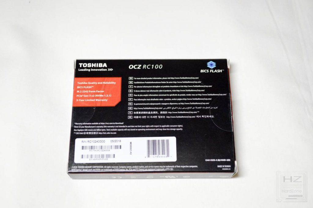 Toshiba OCZ RC100 - Caja 2