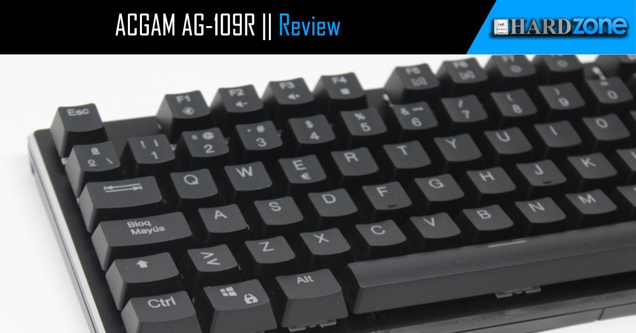 Ver noticia 'Review: ACGAM AG-109R, un teclado gaming RGB al alcance de todos'