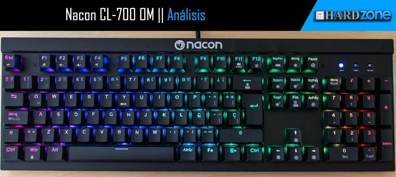 nacon cl-700 om analisis