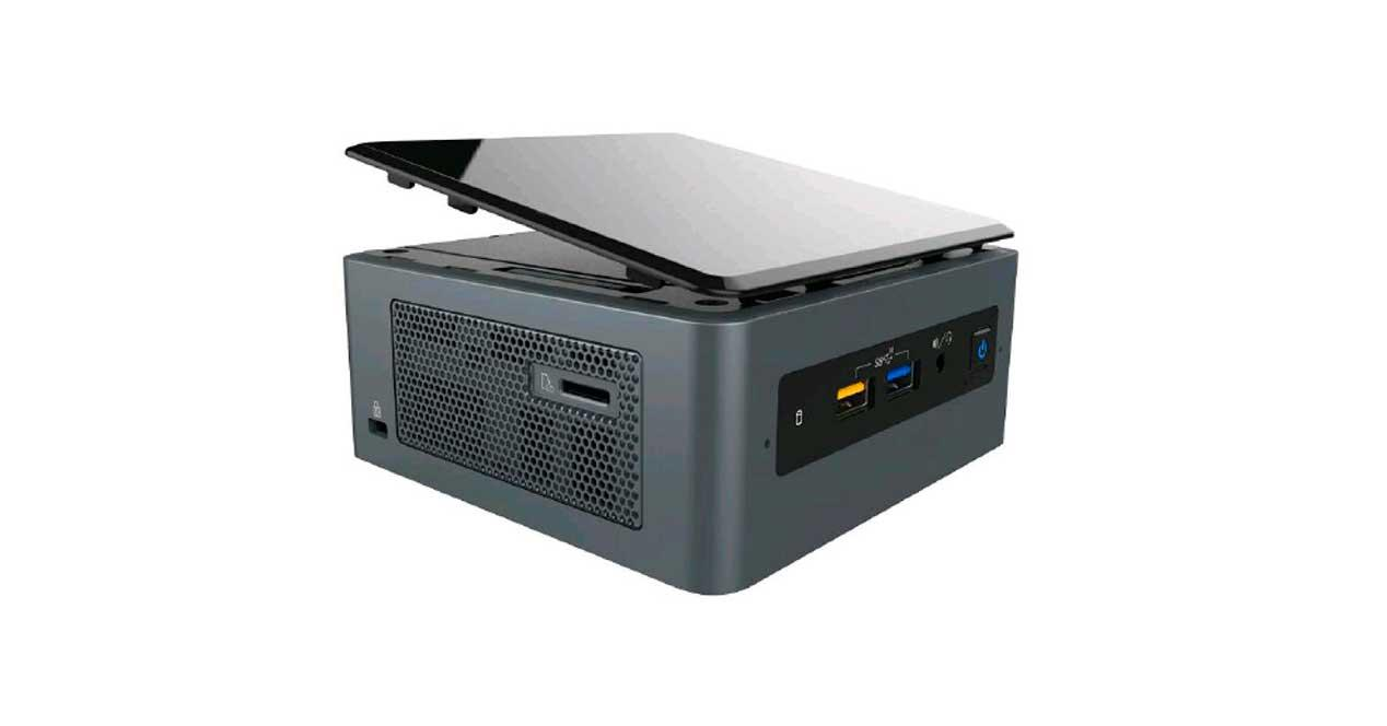 nuevos nuc intel bean canyon coffee lake-u