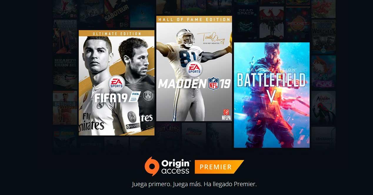 origin access premier suscripcion mensual ea juegos