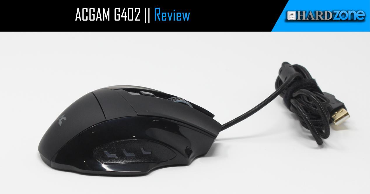 Ver noticia 'Review: ACGAM G402, ratón gaming barato con iluminación RGB'