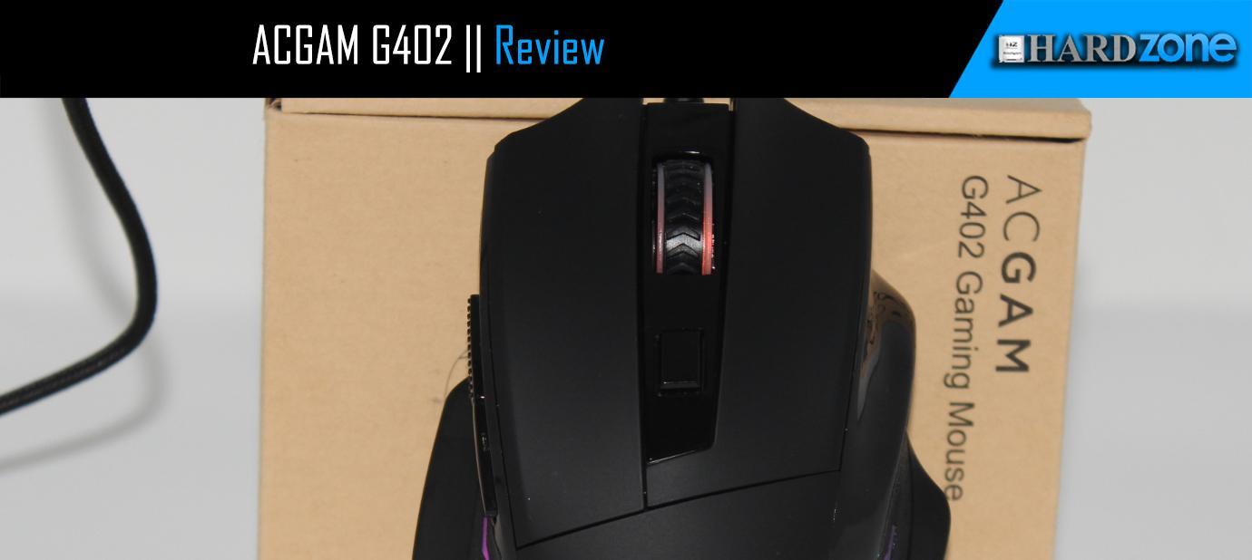 Ver noticia 'Análisis: Ratón gaming RGB barato ACGAM G402'