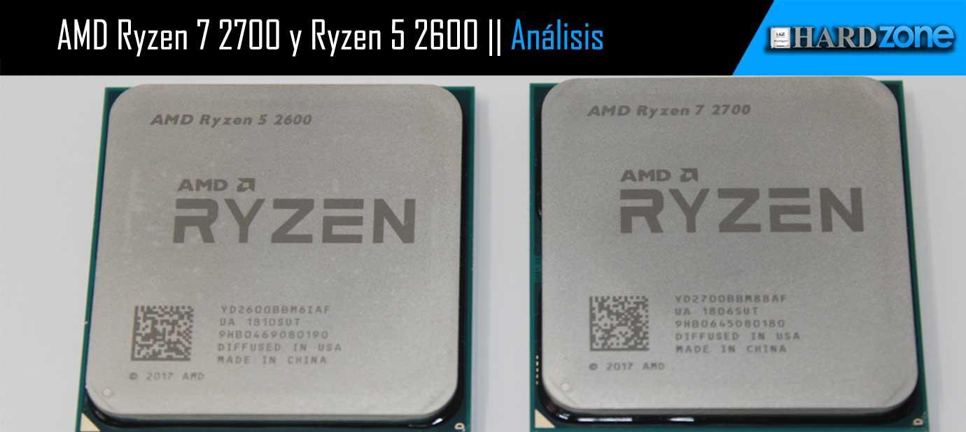 Ver noticia 'Análisis: AMD Ryzen 7 2700 y Ryzen 5 2600'