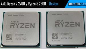 Review: Ryzen 7 2700 y Ryzen 5 2600 continúan la evolución a Zen+