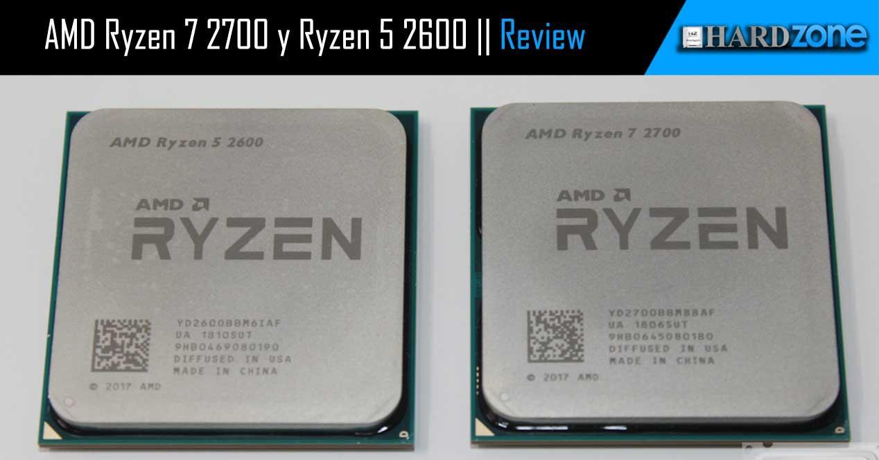 Ver noticia 'Review: Ryzen 7 2700 y Ryzen 5 2600 continúan la evolución a Zen+'