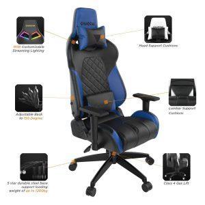 sillas gaming rgb