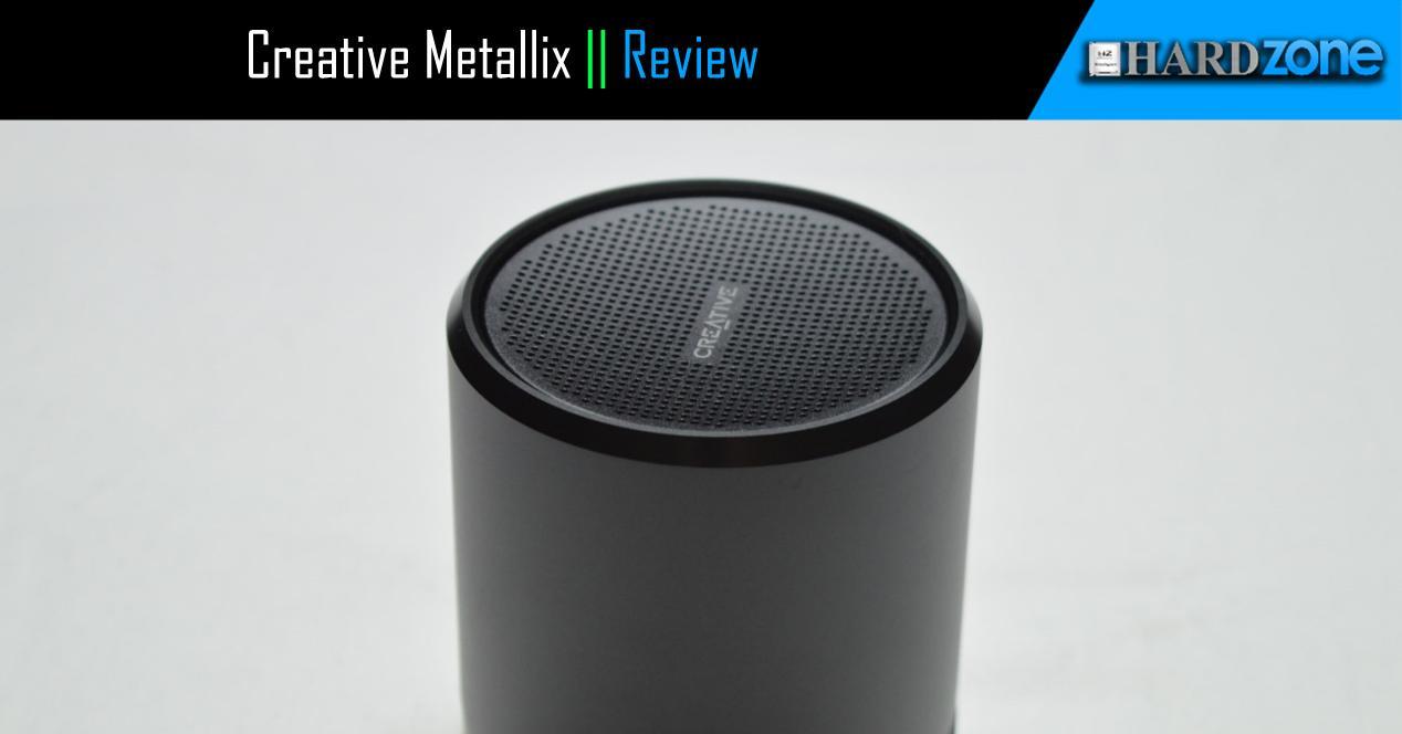 Ver noticia 'Review: Creative Metallix, un altavoz Bluetooth barato y muy pequeño'