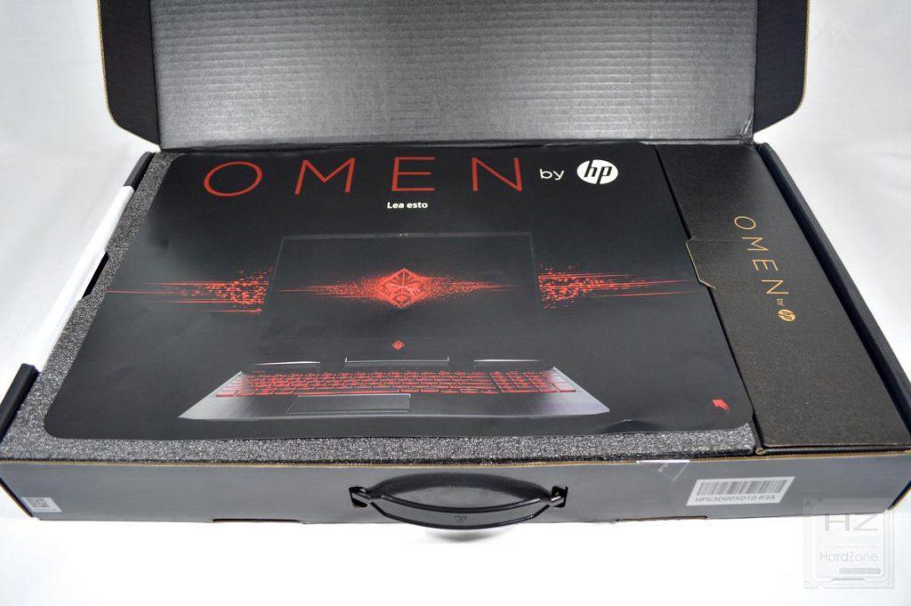 HP Omen 15 (2018) - Caja abierta 1