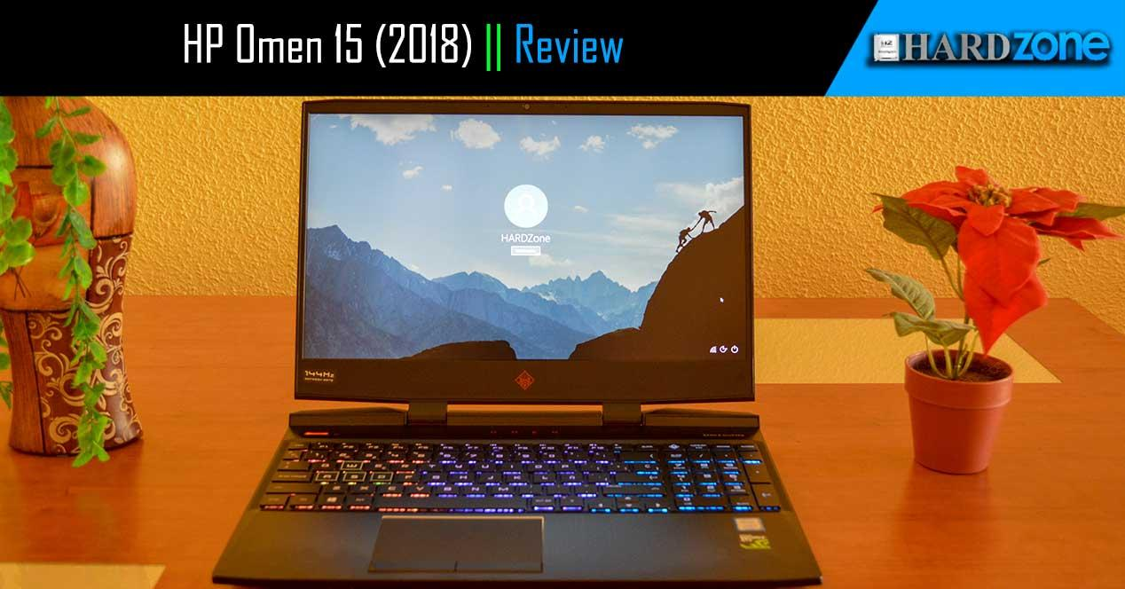 Review HP Omen 15 2018