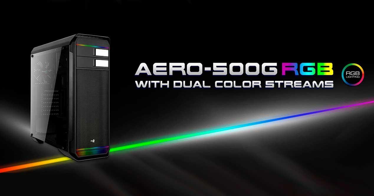 aerocool aero-500g rgb
