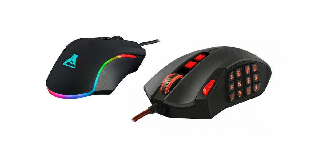mejores ratones láser jugar ordenador menos 55 euros