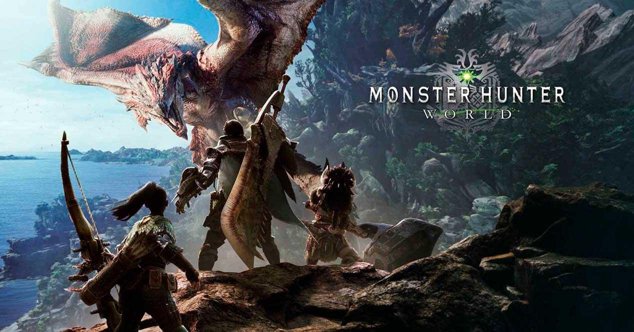 monster hunter: world lanzamiento ordenador requisitos