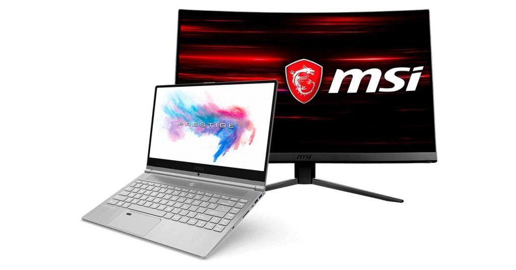 msi nuevos portatil ultrafino y monitores 144 hz