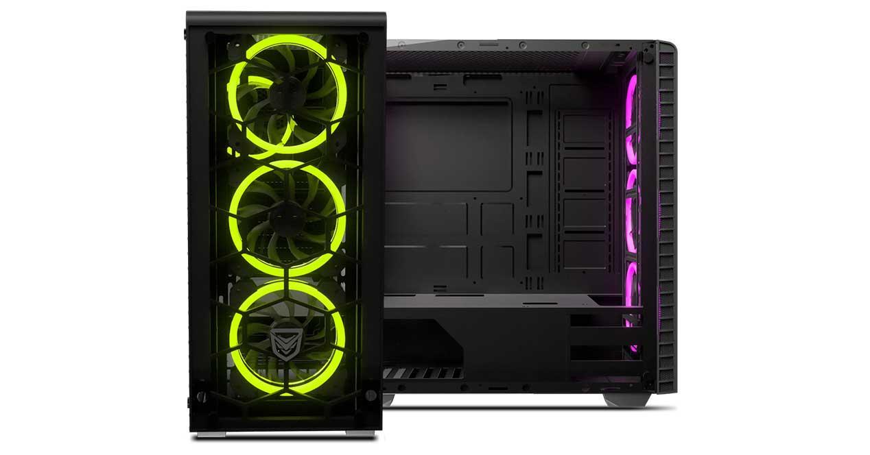 Ver noticia 'Nfortec Draco: nueva caja con 4 ventiladores RGB sin marcos incluidos'