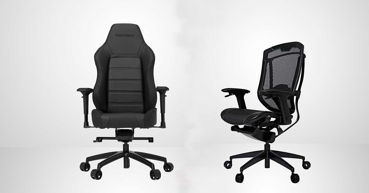 silla gaming vs silla oficina