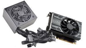 EVGA ofrece packs de tarjeta gráfica NVIDIA más una fuente a un precio demoledor