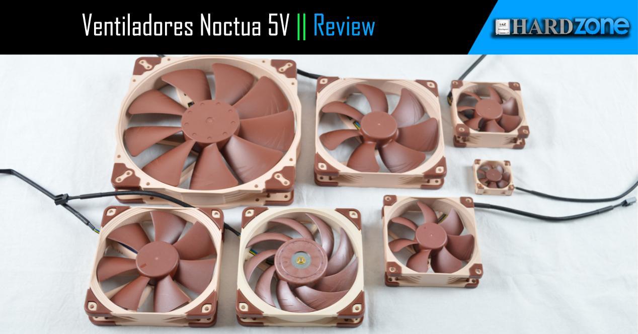 Ver noticia 'Review: 14 ventiladores de Noctua a fondo, 5V y conexión USB'