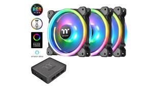 Thermalake Riing Trio 14 RGB Radiator Fan: nuevos ventiladores con control de voz