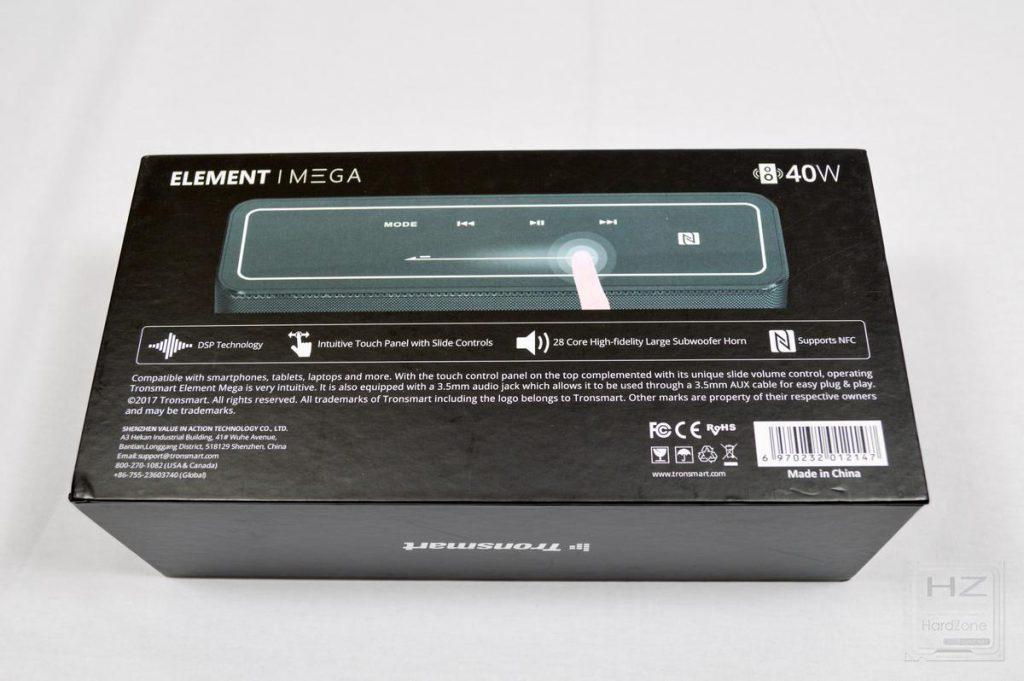 Tronsmart Element MEGA - Caja 2