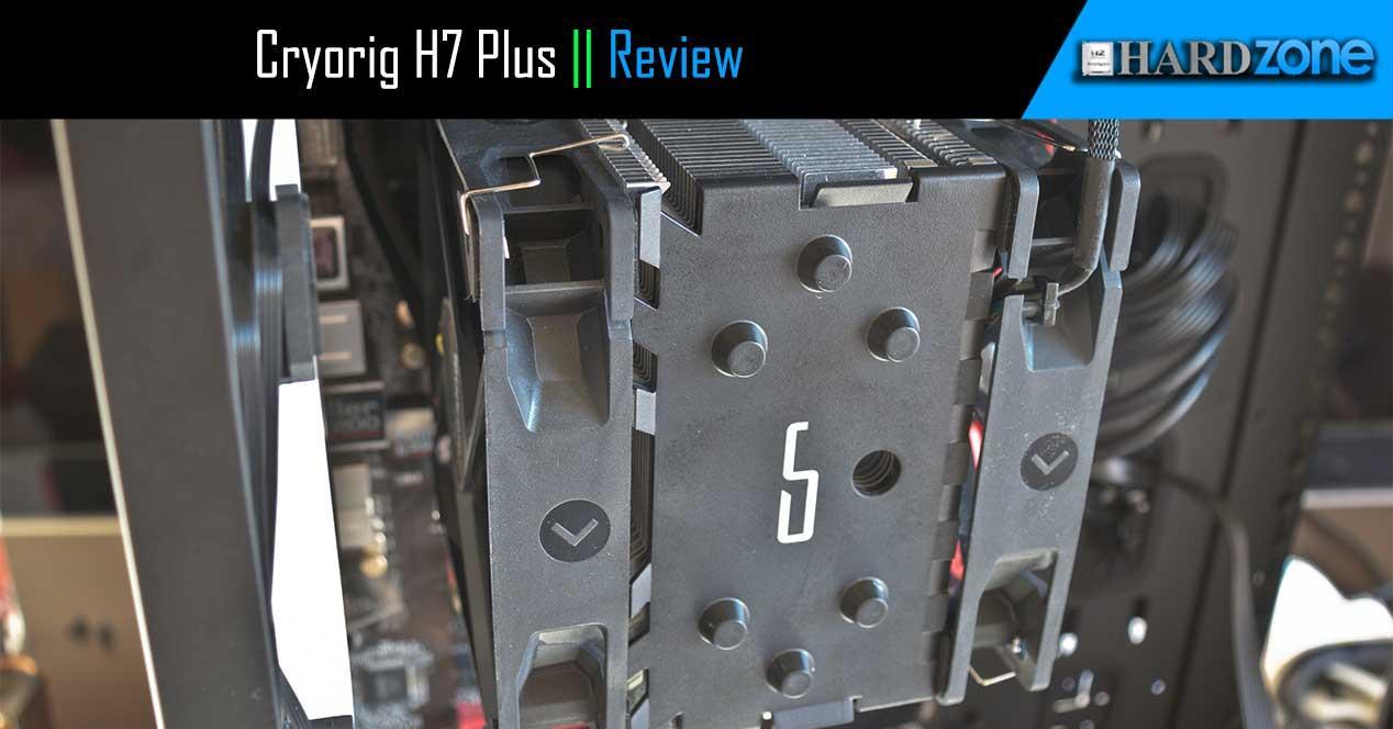 Ver noticia 'Review: Cryorig H7 Plus, disipador de doble ventilador con un diseño robusto y bajo ruido'