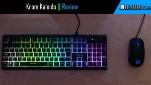 Review: Krom Kaleido: un combo de teclado semimecánico y ratón gaming barato