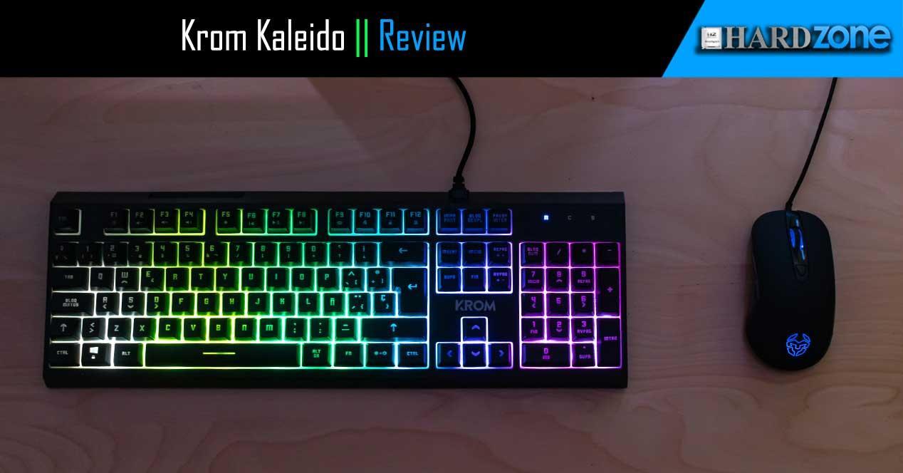 Ver noticia 'Review: Krom Kaleido: un combo de teclado semimecánico y ratón gaming barato'