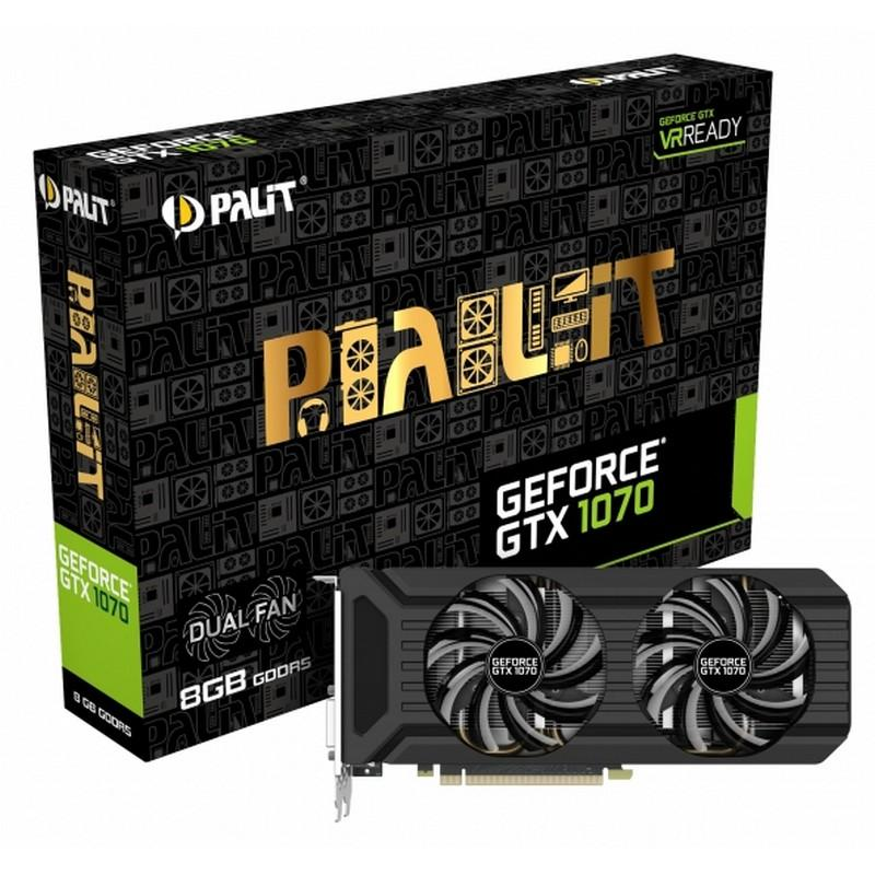 Palit GeForce GTX 1070 Dual Fan 8GB GDDR5