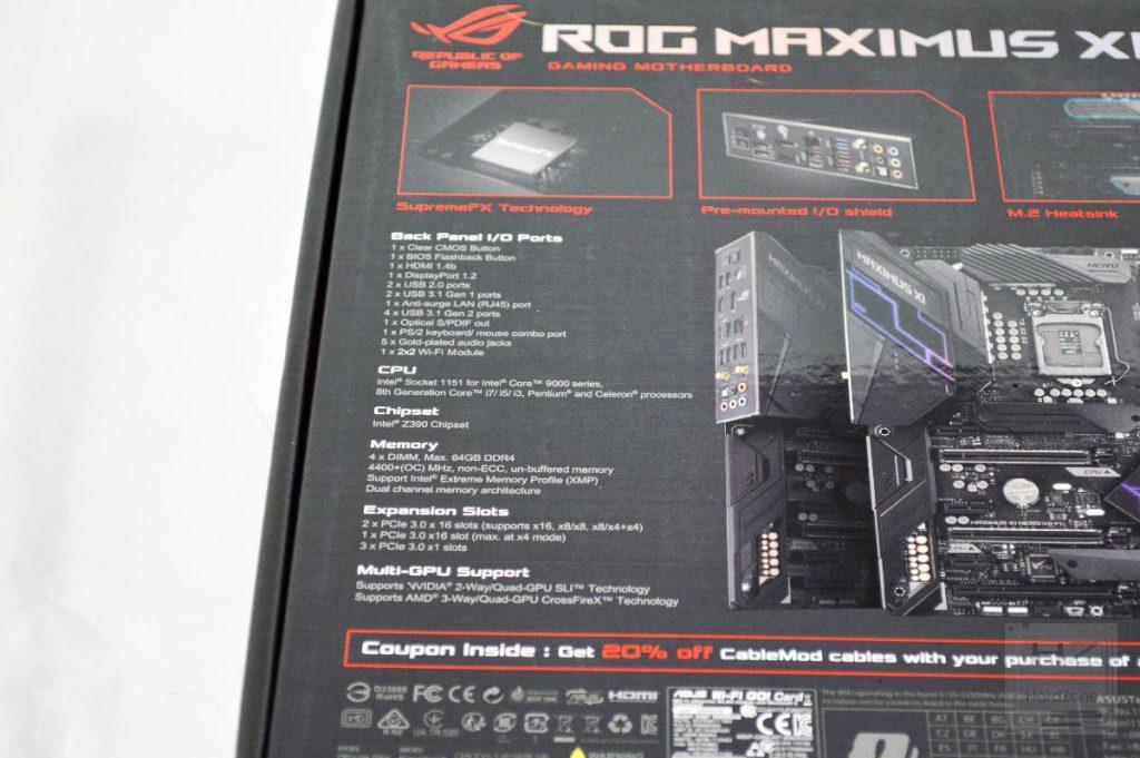 ASUS Z390 MAXIMUS XI HERO (WiFi) - Review 5