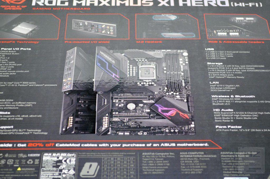ASUS Z390 MAXIMUS XI HERO (WiFi) - Review 7