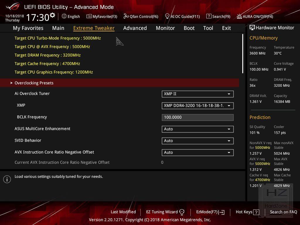 ASUS Z390 MAXIMUS XI HERO (WiFi) - UEFI - Review 2