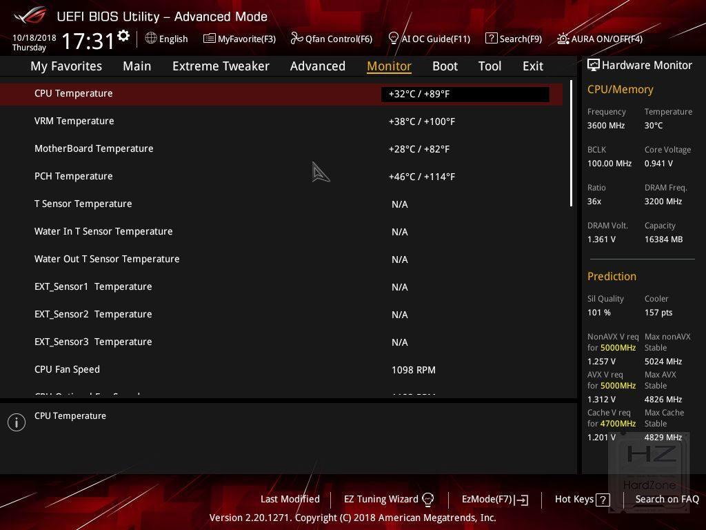 ASUS Z390 MAXIMUS XI HERO (WiFi) - UEFI - Review 4
