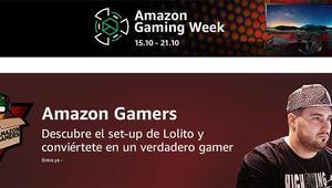 Amazon Gaming Week, aprovecha estos descuentos y renueva tu arsenal gaming