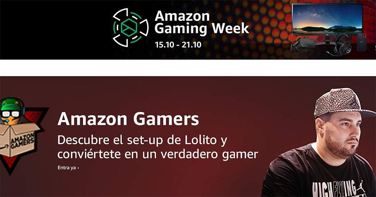 Ver noticia 'Amazon Gaming Week, aprovecha estos descuentos y renueva tu arsenal gaming'