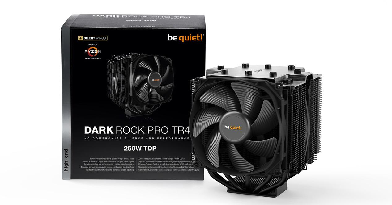 Ver noticia 'Be Quiet! presenta su mejor disipador para Threadripper: Dark Rock Pro TR4'
