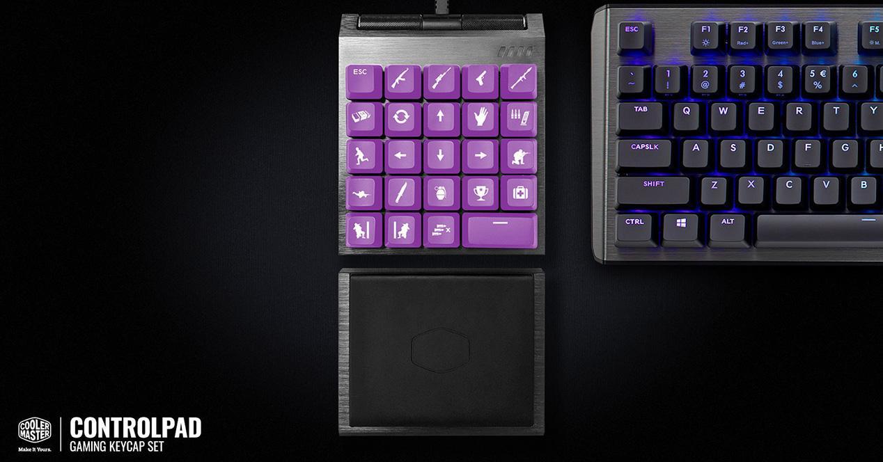 Ver noticia 'Cooler Master ControlPad: su primer teclado analógico con Aimpad ya está en Kickstarter'