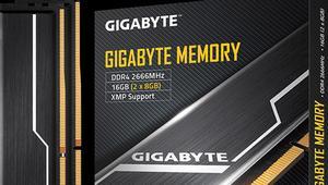 Gigabyte Memory: el primer kit de memoria DDR4 de la marca sin RGB