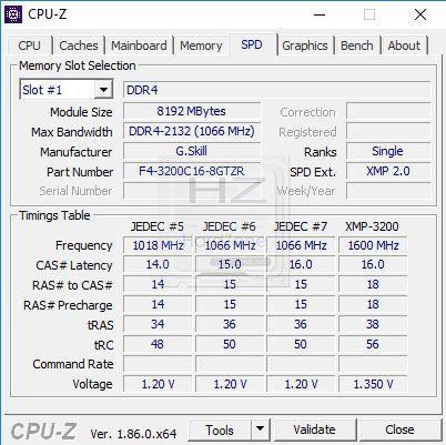 Intel i9 9900K CPU-Z - Review 4