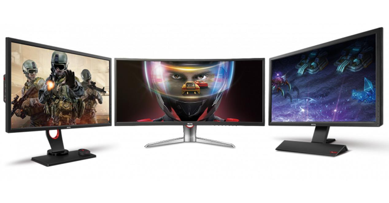 monitores gaming
