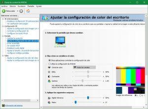 Panel de Control de NVIDIA UWP 3