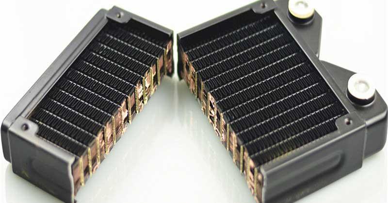 radiador abierto